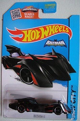 Hot Wheels, 2015 HW City, Batmobile Batman: The Brave and the Bold [Black] Die-Cast Vehicle #63/250