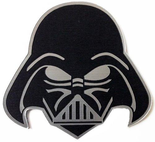Darth Vader Star Wars Vehicle Car Badge Emblem Black Stick