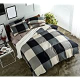 Spring and Summer New Bed Four Sets of Multi-Color Comfort Fashion Bedding Sheets Set ZXCV (Color : 4, Size : 160 * 210cm)