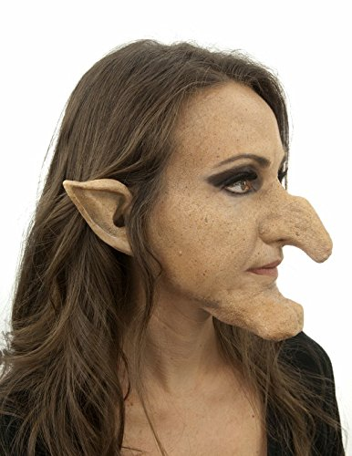 Woochie Classic Latex Ears - Professional Quality Halloween Costume Makeup - Witch -