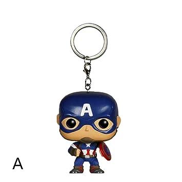 Muswanna87 Funko Pop PVC Marvel DC Capitán América Iron Man ...