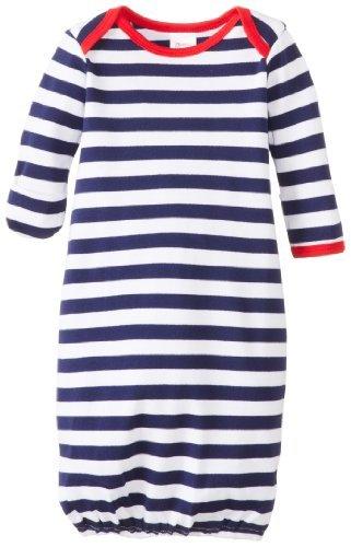 Zutano Unisex-Baby recién nacido Primary Stripe albornoz, azul ...