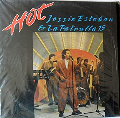 LP HOT JOSSIE ESTEBAN Y LA PATRULLA 15 SONOLUX 1991