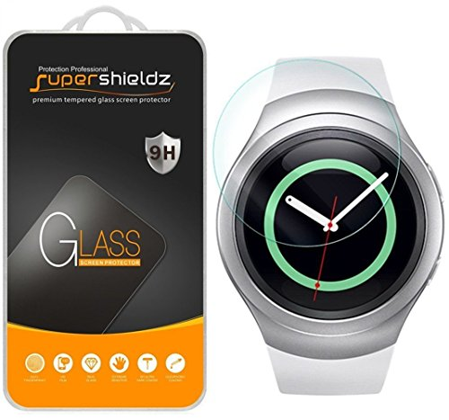 Supershieldz [3-Pack] for Samsung Gear S2 / Gear S2 Classic (3G/4G Connectivity Model Only) Tempered Glass Screen Protector, Anti-Scratch, Anti-Fingerprint, Bubble Free, Lifetime Replacement (Touch 3g Protector Screen)
