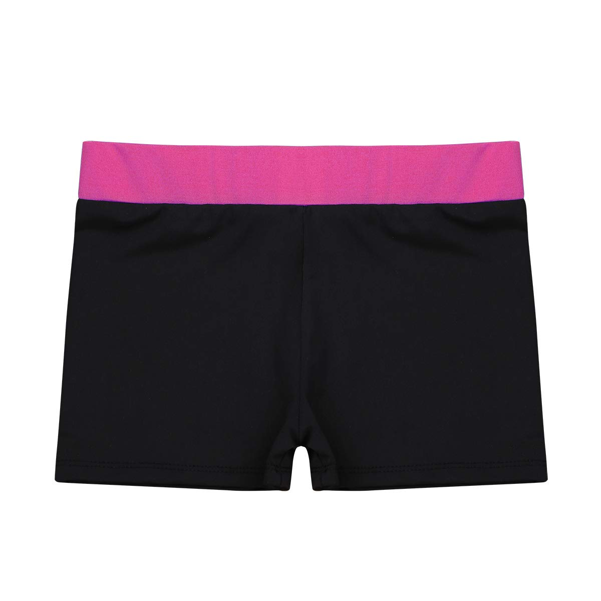 iEFiEL SHORTS ガールズ B07GBSTMM4 12|Rose Red&black Rose Red&black 12