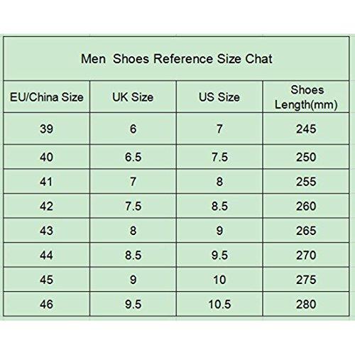 Jiyaru Mens Anti-Slip Slippers Home Casual Beach Cowhide Leather Shoes MSEHW8gc