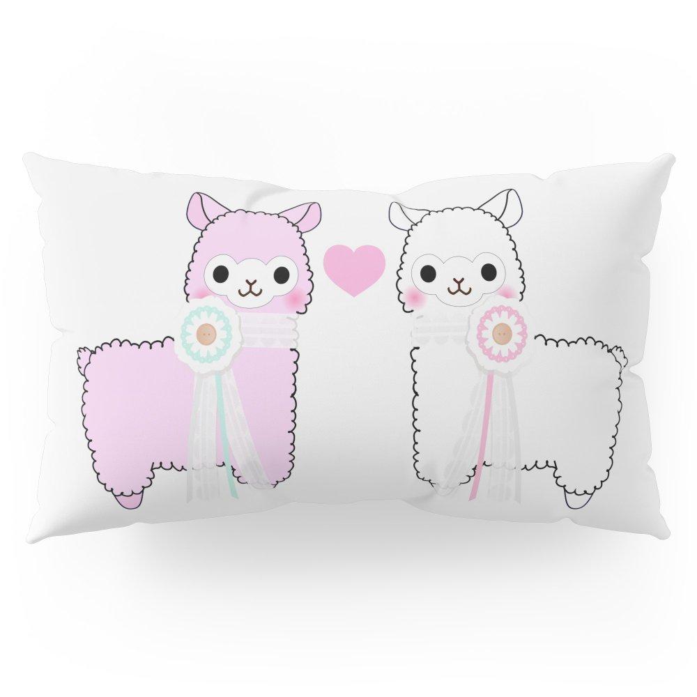Society6 Alpaca Love Pillow Sham King (20'' x 36'') Set of 2