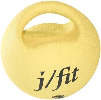 JFIT J/Ajuste Premium - Balón Medicinal con asa (, Amarillo ...