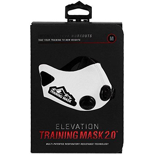 Elevation Training Mask 2.0 White (Medium)