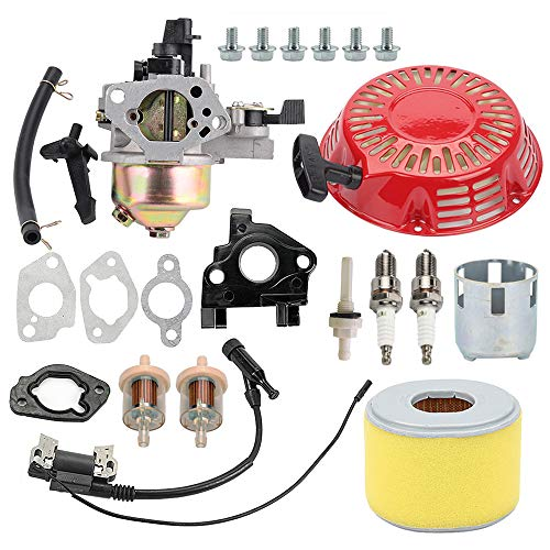 Gx270 Engine - Allong Carburetor Recoil Starter Assembly for Honda GX240 8HP GX270 9HP Engine 270cc Water Pump 16100-ZH9-W21 16100-ZE2-W71