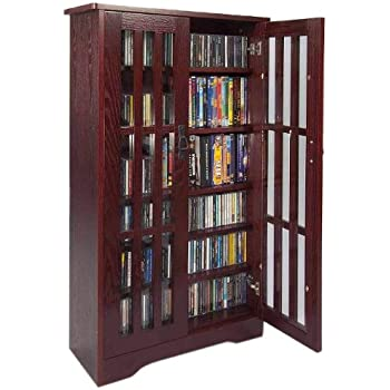 mission style bookcase honey oak with doors folding target dame high capacity inlaid glass multimedia storage cabinet cherry