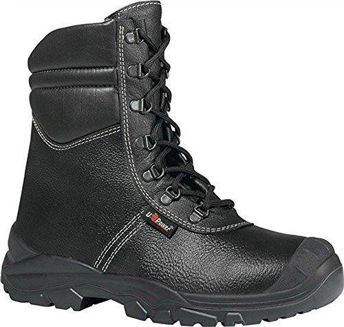 Invernale stivali EN 20345S3CI SRC Krotal UK, misura 45pelliccia fodera in pelle nero