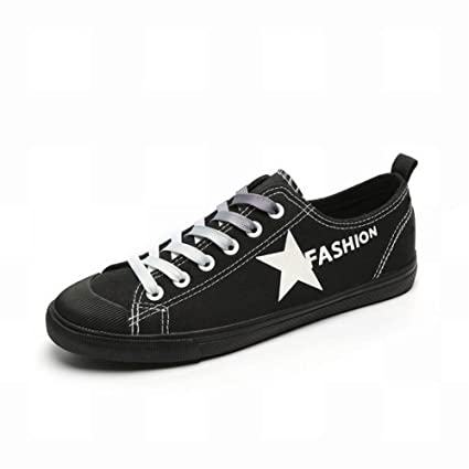 Oudan Zapatillas de Lona para Estudiantes de Moda de Todos los Partidos Zapatos Bajos para Mujer