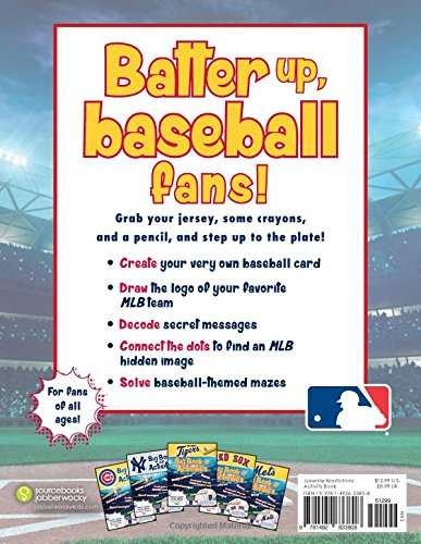 Major League Baseball: The Big Book of Activities (Hawk's Nest Activity Books)