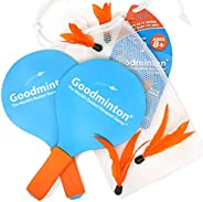 VIAHART Goodminton   The World's Easiest Racket Game   an Indoor Outdoor Year-Round Fun Racquet Game for B