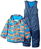 Columbia Little Boys' Frosty Slope Set, Super Blue Dot Print, X-Small