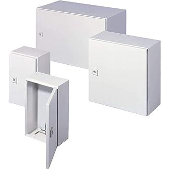 1310 RAL 7035 Quadro P alloggiamento in metallo 400x300x200mm distribuzione
