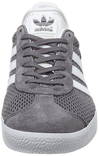 footwear Adidas White trace Baskets Grey Gris Basses trace Mixte Cargo Gazelle Adulte 6Ax6q7S
