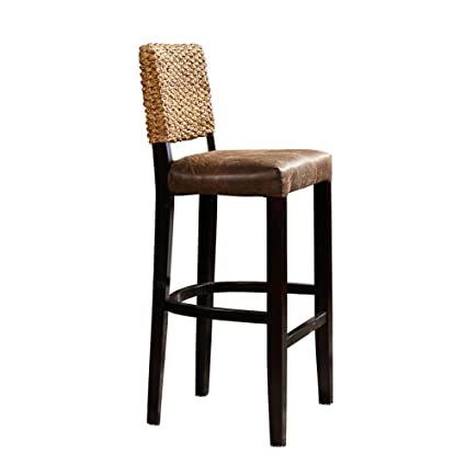 Amazon Com Barstools Mazhong Rattan Bar Stool Chair Lift Chair High