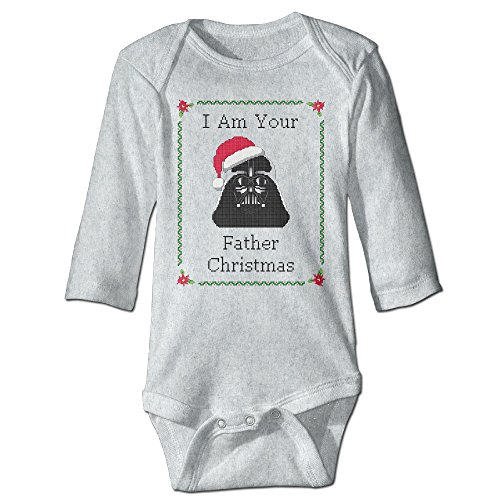 Merry Christmas Laser Wars Original For Jumpsuit Romper Climbing Clothes Ash