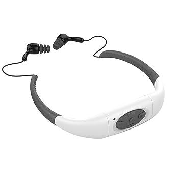 Auriculares deportivos Chinatera, impermeables, estéreos, con reproductor de música MP3, radio FM, ideal para natación, surf y para correr: Amazon.es: ...