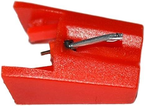 HONGCI Aguja de repuesto con punta de diamante para tocadiscos ...