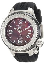 Swiss Legend Women's 11844D-BKBSA Neptune Black Mother-Of-Pearl Dial Diamond Accented Watch