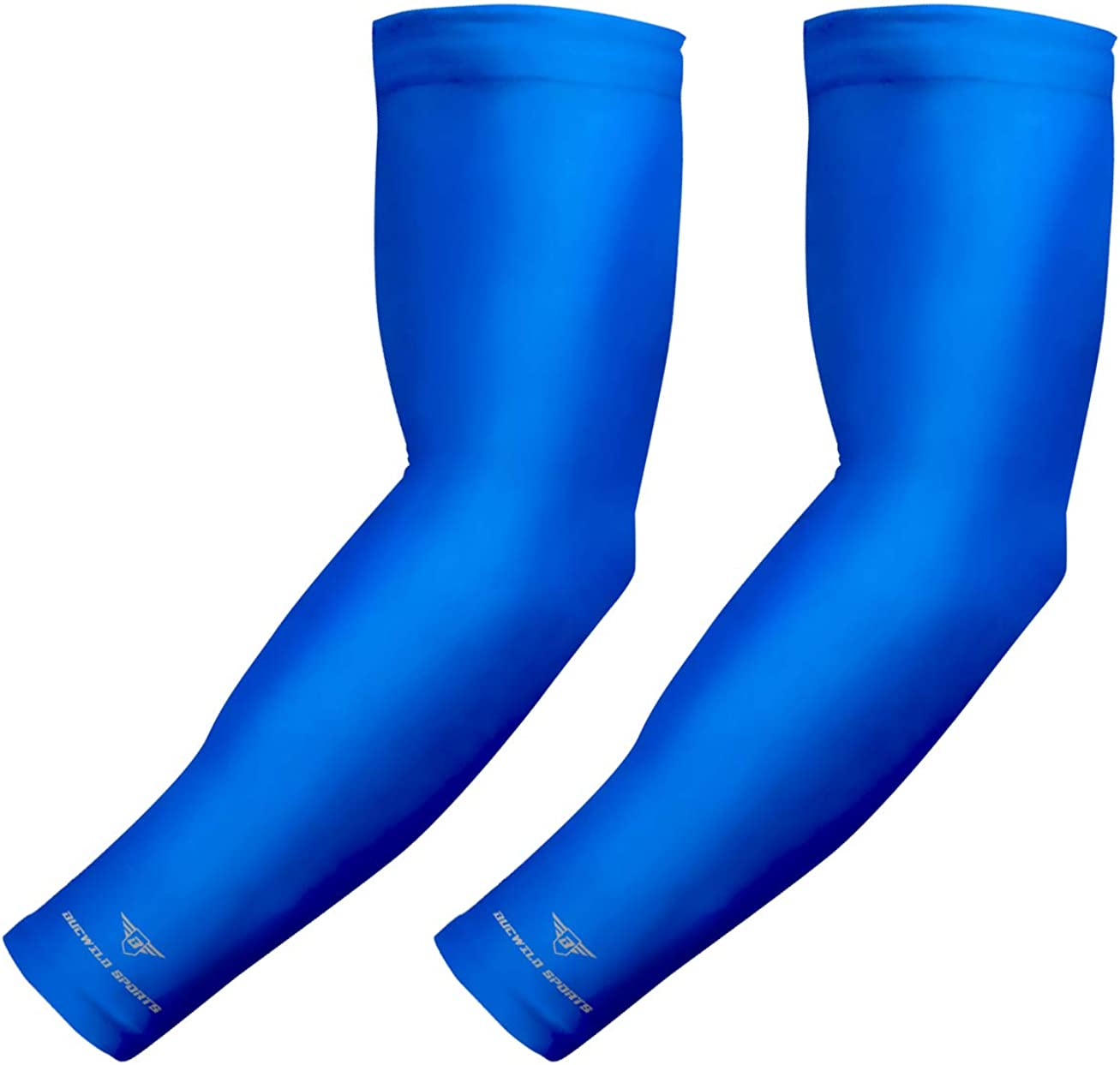1 Arm Sleeve Youth /& Adult Sizes Baseball Football Basketball Sports Bucwild Sports Compression Arm Sleeve