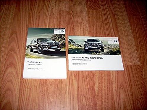 2015 bmw x5 owners manual bmw amazon com books rh amazon com BMW X5 2014 Release Date bmw x5 2003 manual book