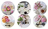 Legacy Reversible Pulpboard Coasters, Boxed Set of 6, Everyday Miracles
