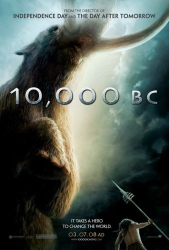 10,000 BC DoUblE SiDeD 27x40 OrIgInAl MoViE PoStEr