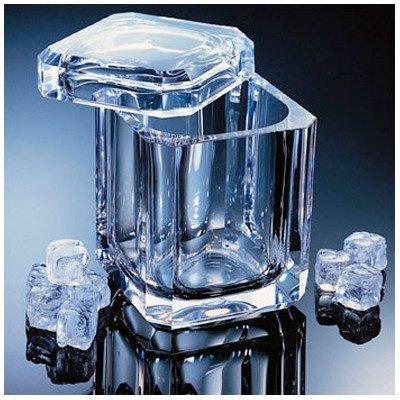 - Grainware 70021 Regal Swivel Top Ice Bucket - Acrylic