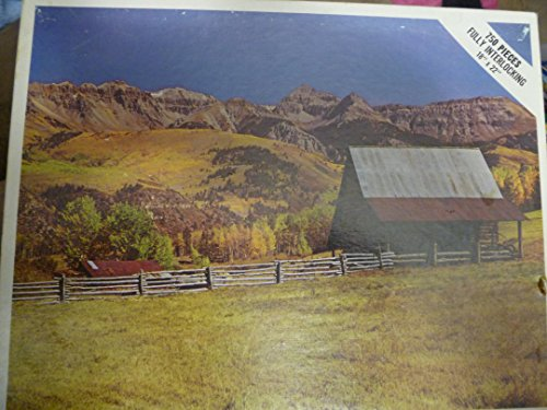 - San Juan Range, Colorado 750 Pieces Jigsaw Puzzle