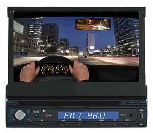 Supersonic SC-405 sintonizador de CD/DVD para el coche - Radio para coche (AM, FM, LCD, Negro, MMC, SD, MPEG4)