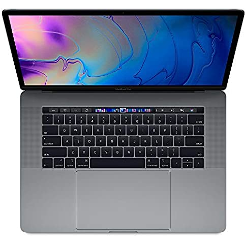 - 510Isd7eMnL - Apple 15-inch MacBook Pro with Touch Bar (Upgraded from MV912LL/A): 2.3GHz 8-core 9th-gen Core i9, 1TB, 32GB RAM, Vega 20 GPU – Space Gray (Mid 2019)
