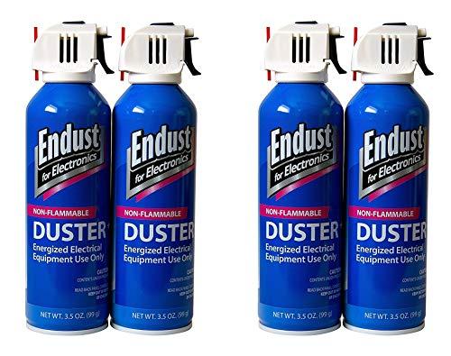 Endust Streak Free Duster 2-Pack, 3.5 Oz Non-Flammable with Bitterant (Тwo Рack) by Endust for Electronics (Image #1)