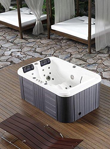 2 Person Hydrotherapy Bathtub Hot Tub Bath Tub Spa 085b
