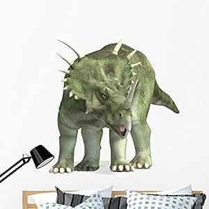 Wallmonkeys Dinosaur Styracosaurus Wall Decal Peel and Stick Decals for Boys (48 in H x 48 in W) WM400682