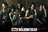 the walking dead season 5 poster - The Walking Dead - TV Show Poster / Print (The Season 5 Cast) (Size: 36