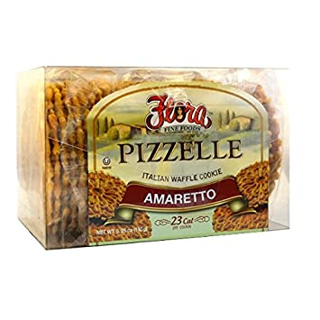 Pizzelle Cookies by Flora Foods - Italian Waffle Cookie - Sweet Snack - Great snack ONLY