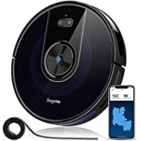 Bagotte 2200Pa Robotic Vacuum Cleaner with Wi-Fi Connectivity for Pet Hair,Hardwood Floors & Carpets