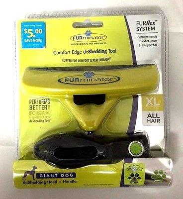 (FURminator Comfort Edge deShedding Tool XL for Dogs over 90 lbs.)