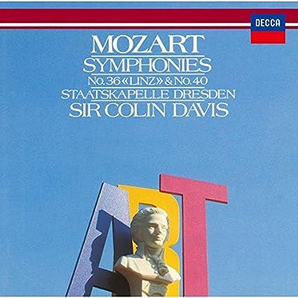 モーツァルト:交響曲第36番「リンツ」&第40番