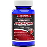 Best Blood Pressure Support Supplement, PERFECT PRESSURE- Advanced Natural Cardiovascular Health Aid. Assist in Blood Circulation. Effective Hawthorn Berry Formula Garlic Pills Olive Leaf. 60 Capsules