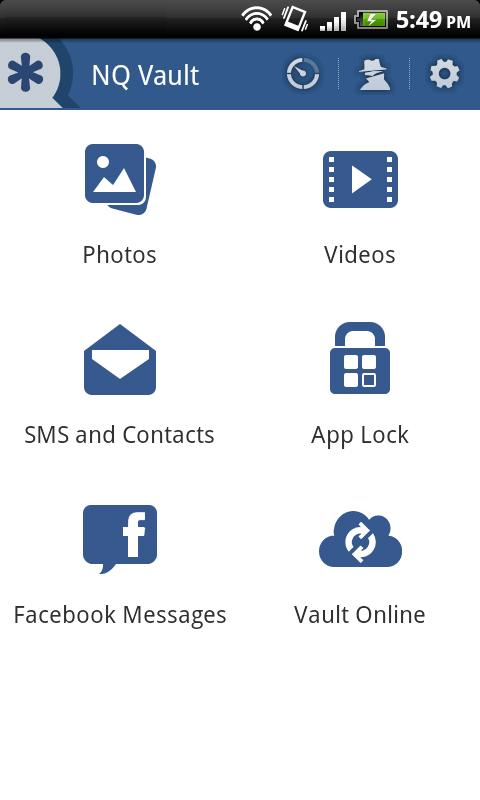 NQ Vault - Hide SMS, Pics & Videos