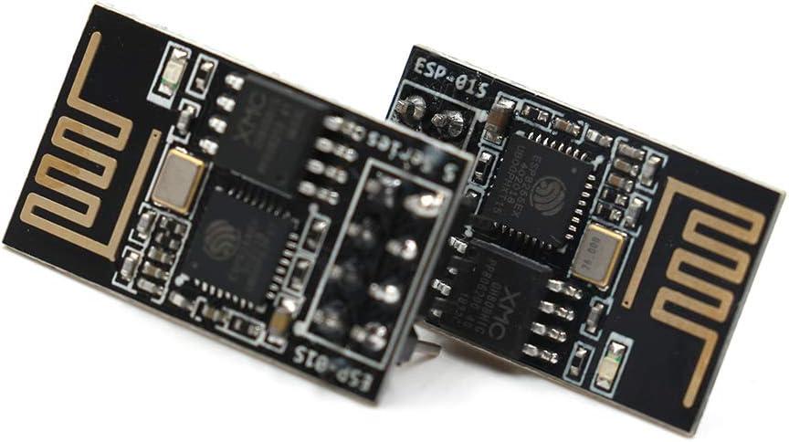 Ancai ESP8266 ESP-01S Serial WiFi Wireless Transceiver Module Pack of 4