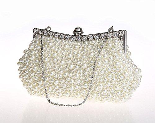 Soirée Strass White Sac De Sac Womens De De Luxe Mariage Clutch à Sacs Main Bags Bag Bridal fqqIRZaw
