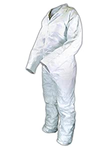 Magid Glove & Safety 216853-XL Environstar MP Coverall, X-Large, White (Pack of 25)