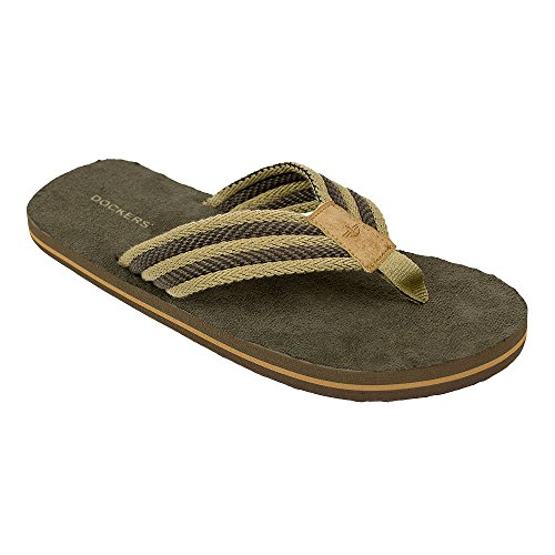 Dockers Mens 2124 Flip-flop Tan-beige