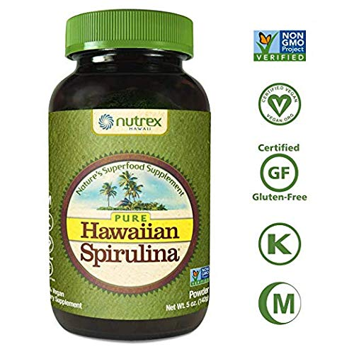 Nutrex Hawaii Pure Hawaiian Spirulina Pacifica Powder - 5 Oz by Nutrex Hawaii (Nutrex Hawaii Hawaiian Spirulina)